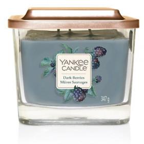 Aromatická svíčka, Yankee Candle Elevation Dark Berries, hoření až 38 hod