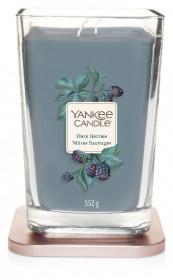 Aromatická svíčka, Yankee Candle Elevation Dark Berries, hoření až 80 hod