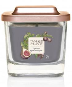 Aromatická svíčka, Yankee Candle Elevation Fig & Clove, hoření až 28 hod
