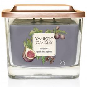 Aromatická svíčka, Yankee Candle Elevation Fig & Clove, hoření až 38 hod