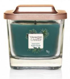 Aromatická svíčka, Yankee Candle Elevation Frosted Fir Sapin Givré, hoření až 28 hod
