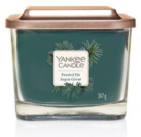 Aromatická svíčka, Yankee Candle Elevation Frosted Fir Sapin Givré, hoření až 38 hod