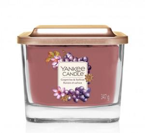 Aromatická svíčka, Yankee Candle Elevation Grapevine & Saffron, hoření až 38 hod