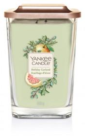 Aromatická svíčka, Yankee Candle Elevation Holiday Garland, hoření až 80 hod