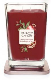 Aromatická svíčka, Yankee Candle Elevation Holiday Pomegranate, hoření až 80 hod