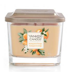 Aromatická svíčka, Yankee Candle Elevation Kumquat & Orange, hoření až 38 hod