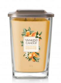 Aromatická svíčka, Yankee Candle Elevation Kumquat & Orange, hoření až 80 hod