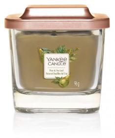 Aromatická svíčka, Yankee Candle Elevation Pear & Tea Leaf, hoření až 28 hod