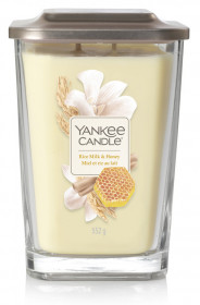 Aromatická svíčka, Yankee Candle Elevation Rice Milk & Honey, hoření až 80 hod