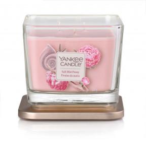 Aromatická svíčka, Yankee Candle Elevation Salt Mist Peony, hoření až 38 hod