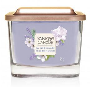 Aromatická svíčka, Yankee Candle Elevation Sea Salt & Lavender, hoření až 28 hod