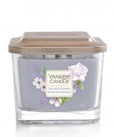 Aromatická svíčka, Yankee Candle Elevation Sea Salt & Lavender, hoření až 38 hod