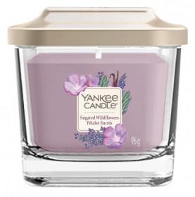 Aromatická svíčka, Yankee Candle Elevation Sugared Wildflowers, hoření až 28 hod