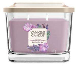Aromatická svíčka, Yankee Candle Elevation Sugared Wildflowers, hoření až 38 hod