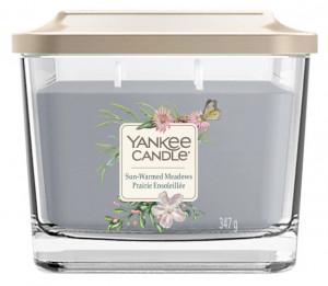 Aromatická svíčka, Yankee Candle Elevation Sun-Warmed Meadows, hoření až 38 hod