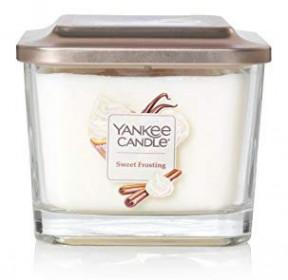 Aromatická svíčka, Yankee Candle Elevation Sweet Frosting, hoření až 38 hod