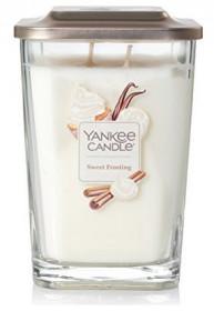 Aromatická svíčka, Yankee Candle Elevation Sweet Frosting, hoření až 80 hod