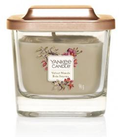 Aromatická svíčka, Yankee Candle Elevation Velvet Woods, hoření až 28 hod