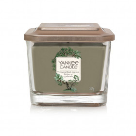 Aromatická svíčka, Yankee Candle Elevation Vetiver & Black Cypress, hoření až 38 hod