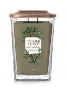 Aromatická svíčka, Yankee Candle Elevation Vetiver & Black Cypress, hoření až 80 hod