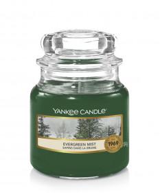Aromatická svíčka, Yankee Candle Evergreen Mist, hoření až 30 hod