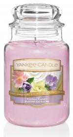 Aromatická svíčka, Yankee Candle Floral Candy, hoření až 150 hod