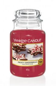 Aromatická svíčka, Yankee Candle Frosty Gingerbread, hoření až 150 hod
