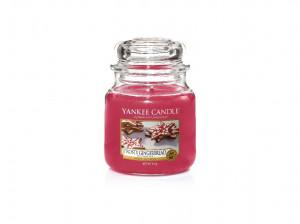 Aromatická svíčka, Yankee Candle Frosty Gingerbread, hoření až 75 hod