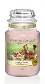 Aromatická svíčka, Yankee Candle Garden Picnic, hoření až 150 hod