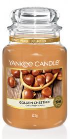 Aromatická svíčka, Yankee Candle Golden Chesnut, hoření až 150 hod