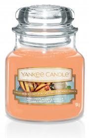 Aromatická svíčka, Yankee Candle Grilled Peaches & Vanilla, hoření až 30 hod