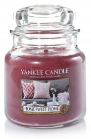 Aromatická svíčka, Yankee Candle Home Sweet Home, hoření až 75 hod