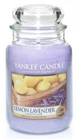 Aromatická svíčka, Yankee Candle Lemon Lavender, hoření až 150 hod