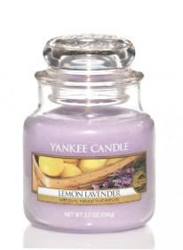 Aromatická svíčka, Yankee Candle Lemon Lavender, hoření až 30 hod
