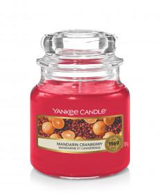Aromatická svíčka, Yankee Candle Mandarin Cranberry, hoření až 30 hod