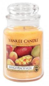 Aromatická svíčka, Yankee Candle Mango Peach Salsa, hoření až 150 hod