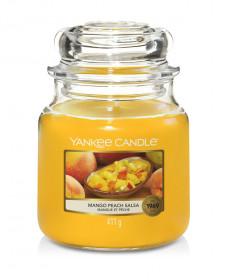 Aromatická svíčka, Yankee Candle Mango Peach Salsa, hoření až 75 hod