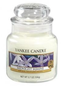 Aromatická svíčka, Yankee Candle Midnight Jasmine, hoření až 30 hod