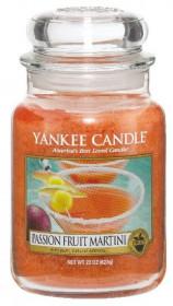 Aromatická svíčka, Yankee Candle Passion Fruit Martini, hoření až 150 hod