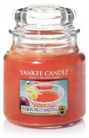 Aromatická svíčka, Yankee Candle Passion Fruit Martini, hoření až 75 hod