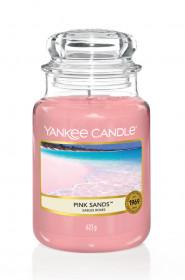 Aromatická svíčka, Yankee Candle Pink Sands, hoření až 150 hod