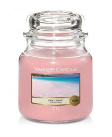 Aromatická svíčka, Yankee Candle Pink Sands, hoření až 75 hod