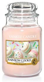 Aromatická svíčka, Yankee Candle Rainbow Cookie, hoření až 150 hod