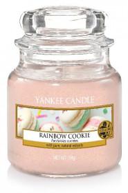 Aromatická svíčka, Yankee Candle Rainbow Cookie, hoření až 30 hod