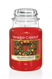 Aromatická svíčka, Yankee Candle Red Apple Wreath, hoření až 150 hod