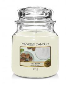 Aromatická svíčka, Yankee Candle Shea Butter, hoření až 75 hod