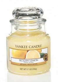 Aromatická svíčka, Yankee Candle Sicilian Lemon, hoření až 30 hod