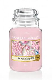 Aromatická svíčka, Yankee Candle Snowflake Cookie, hoření až 150 hod