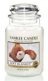 Aromatická svíčka, Yankee Candle Soft Blanket, hoření až 150 hod