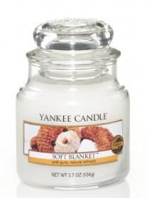 Aromatická svíčka, Yankee Candle Soft Blanket, hoření až 30 hod